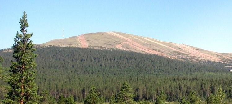 Yllästunturi. J-P Kärnä, CC BY-SA 3.0 via Wikimedia Commons