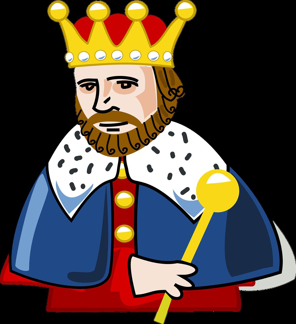 Kuningas. Pixabay.