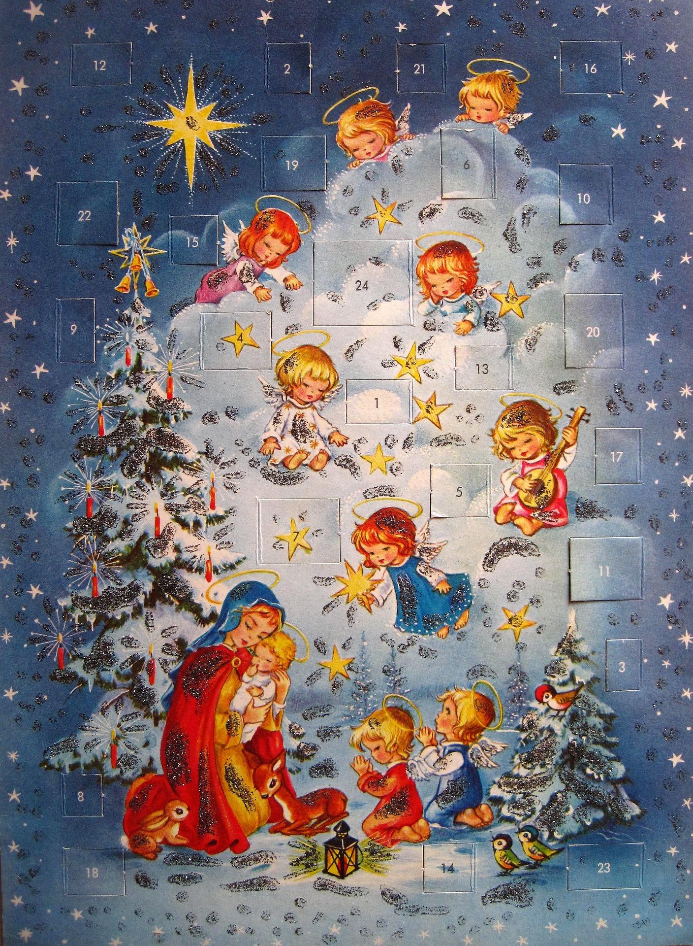 Joulukalenteri. Pixabay.