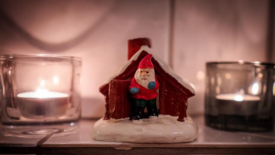 Joulupukki matkaan jo käy. Tuukka Lindholm.